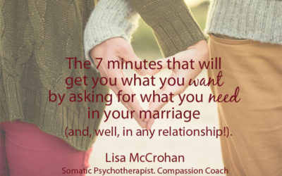 Mindful Communication: The 7 minutes that will get you what you want by asking for what you need in your marriage